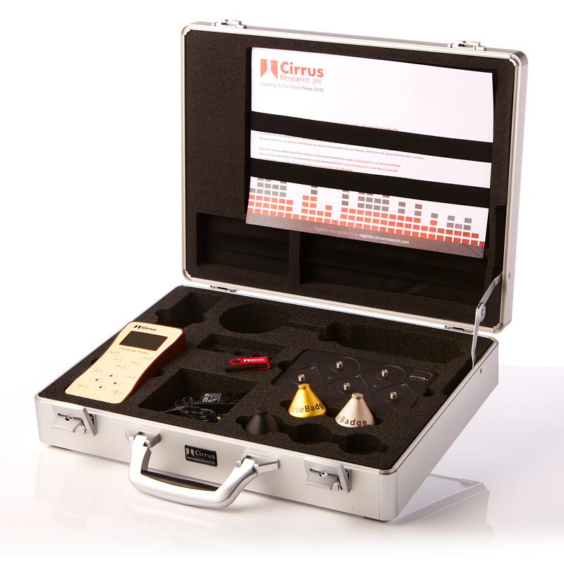 dosimètre bruit valise
