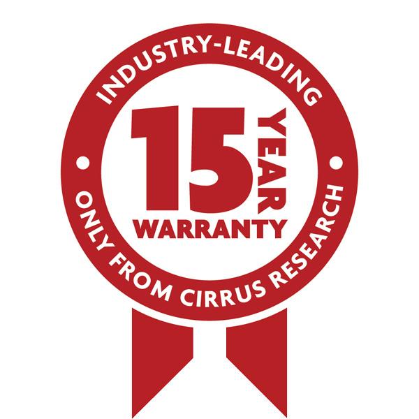 Garantie 15 ans Cirrus