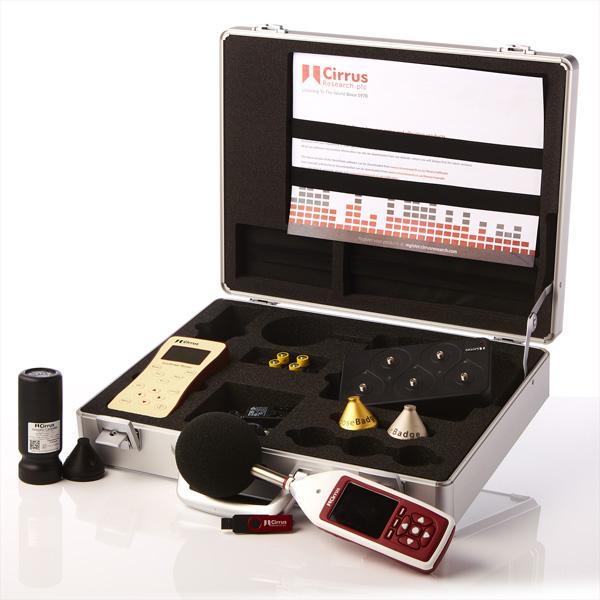 kit sonomètre et un kit exposimètre acoustique