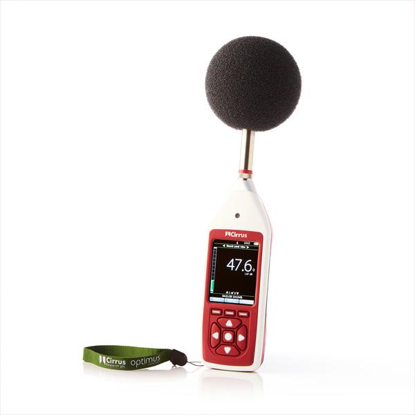 Optimus Vert Sonomètre intégrateur analyseur tonalites