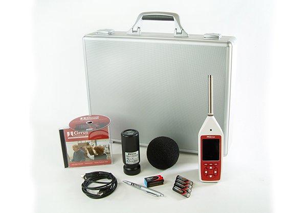 Sonomètres en kit complet avec calibreur acoustique