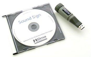 signaletique enregistreur de donnees acoustique