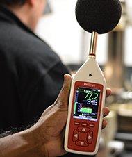 Optimus Jaune sonometre basique