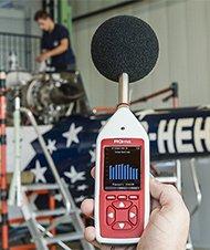 Sonomètre bruit au travail